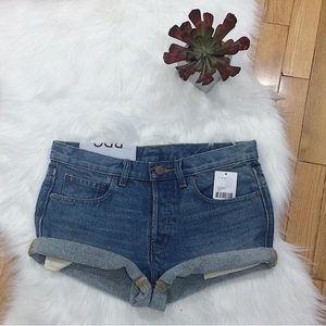 Urban Outfitters BDG NWT Cuffed Denim Shorts
